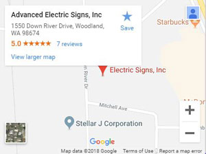 Advanced Electric Signs, Inc on Google Maps